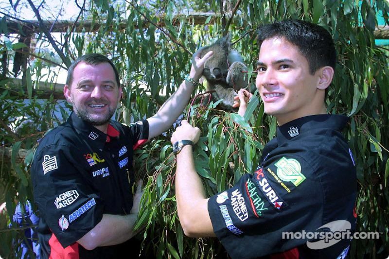 Visit, Melbourne Zoo: Paul Stoddart ve Alex Yoong