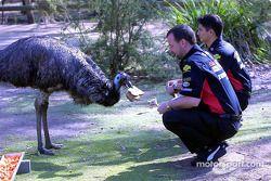 Visite du Zoo de Melbourne : Paul Stoddart et Alex Yoong