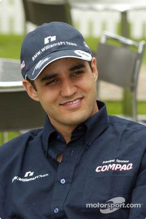 Día del piloto Compaq: Juan Pablo Montoya