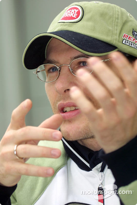 Interview avec Jacques Villeneuve