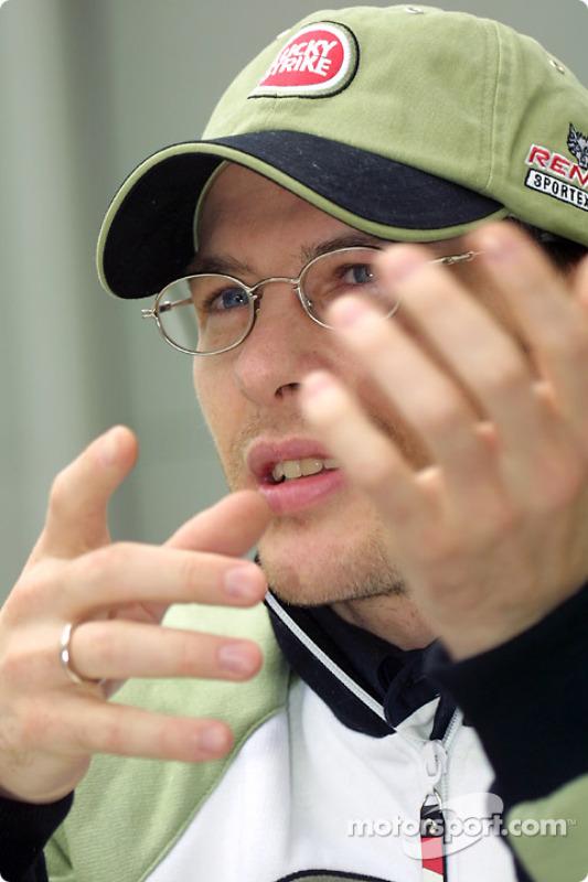 Interview with Jacques Villeneuve