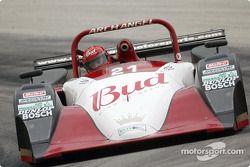 Jeff Clinton au volant de la Lola Nissa n°22, essais libres du jeudi