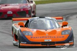The Perspective Motorsports #24 Mosler MT900R earned the manufacturer its first professional victory, winning the GT class