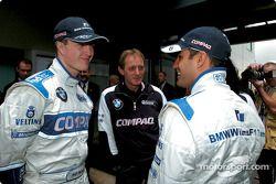 Ralf Schumacher, Williams; Juan Pablo Montoya, Williams
