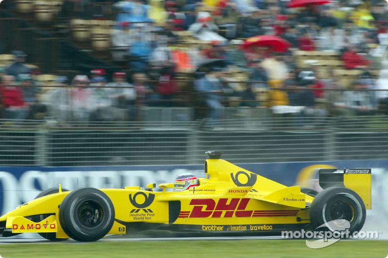 Takuma Sato en essais libres
