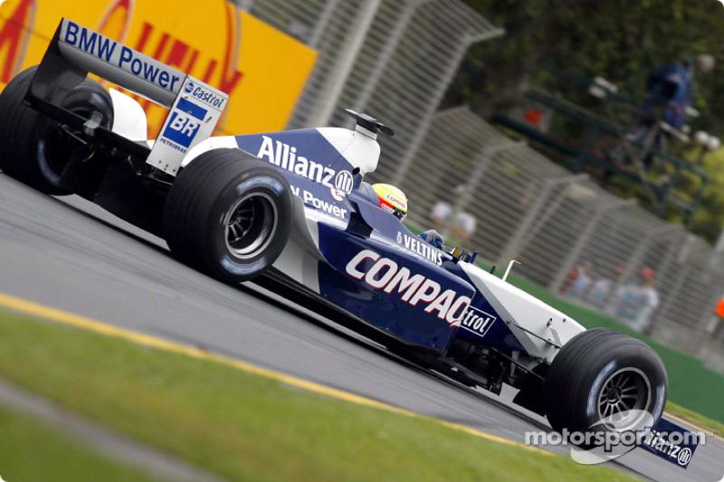 Ralf Schumacher avant la course