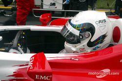 Аллан Макниш, Toyota, на стартовой решетке