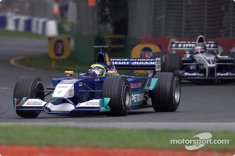 Felipe Massa before the race