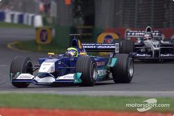 Felipe Massa antes de la carrera