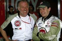 David Richards and Olivier Panis