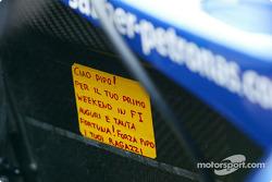 Mensaje para Felipe Massa