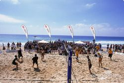 Volleyball de playa en Manly Beach en Sidney