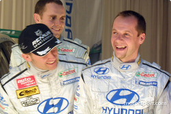 Hyundai Accent WRC3 launch: Freddy Loix, Tomasz Kuchar and Armin Schwarz