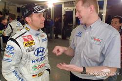 Lanzamiento del Hyundai Accent WRC3: Armin Schwarz
