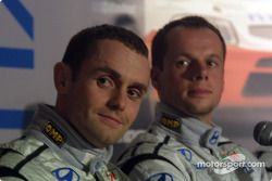 Hyundai Accent WRC3 launch: Tomasz Kuchar and Freddy Loix