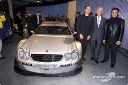 Bernd Schneider, Jürgen Hubbert und Jean Alesi