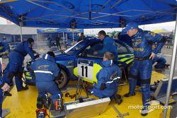 Petter Solberg et l'équipe Subaru