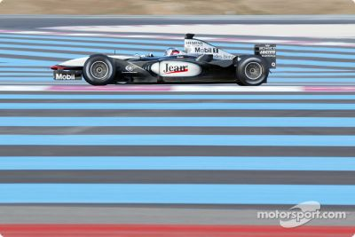 Paul Ricard March test sessions