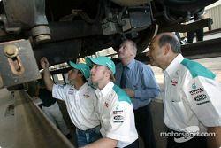 Visit, KLIA Ekspres trainset: Felipe Massa, Nick Heidfeld ve Peter Sauber