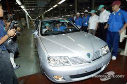 Visita a la fábrica automotriz Proton en Shah Alam: Felipe Massa