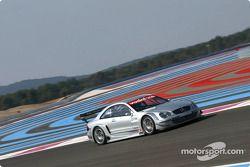 Jean Alesi en el AMG Mercedes-Benz CLK-DTM 2002