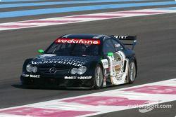 Marcel Fassler en el AMG Mercedes-Benz CLK-DTM 2002