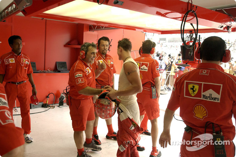 Schumacher, however, remains the unmistakable leader when it comes to pole positions (five)