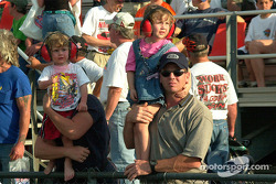 Two young fans