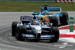 Juan Pablo Montoya et Jenson Button