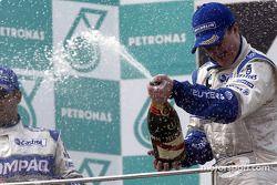 Champagne pour Ralf Schumacher