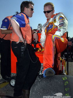 Ricky Craven and crew chief Mike Beam