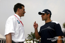 Dr Mario Theissen et Juan Pablo Montoya