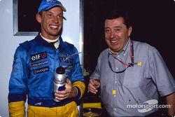 Jenson Button et Patrick Faure