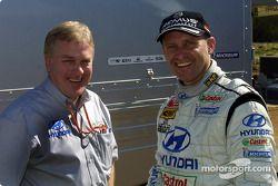 Armin Schwarz et David Whitehead