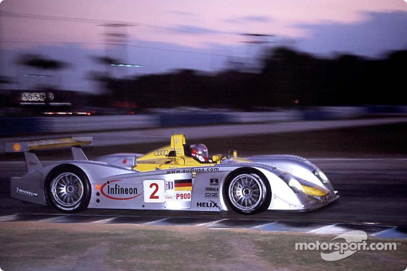 2002: #2 Audi Sport North America, Audi R8
