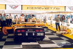 Garage du Team Corvette