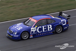 Patrick Huisman driving the Mercedes-Benz CLK-DTM 2001, entered by the CEB AMG-Mercedes team