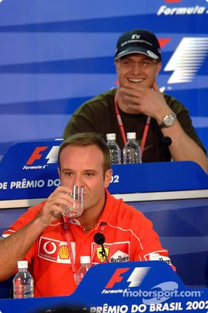 Conferencia de prensa del jueves: Rubens Barrichello y Ralf Schumacher