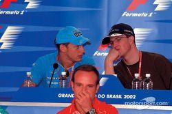 Conferencia de prensa del jueves: Jenson Button y Ralf Schumacher discutiendo