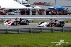 The two Archangel Motorsport Lola