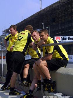 Team Jordan crew members