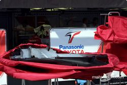 Team Toyota garage area