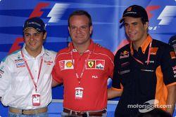 Thursday press conference: Felipe Massa, Rubens Barrichello and Enrique Bernoldi