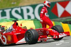Une mauvaise journée pour Rubens Barrichello