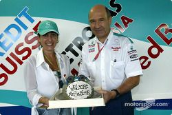 A cake for Peter Sauber