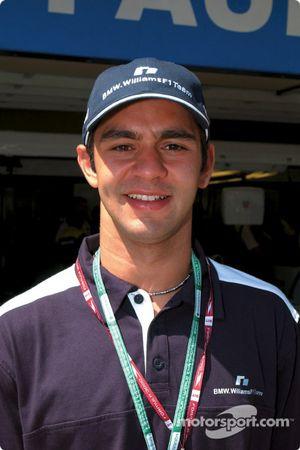 BMW WilliamsF1 Team test driver Antonio Pizzonia