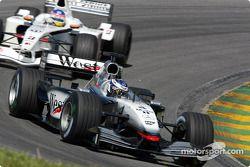 Kimi Räikkönen et Jacques Villeneuve