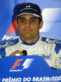 Press conference: pole winner Juan Pablo Montoya
