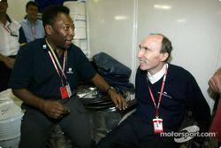 El Gran Pelé y Frank Williams