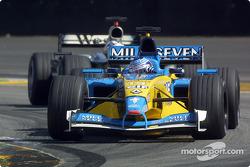 Jarno Trulli y David Coulthard